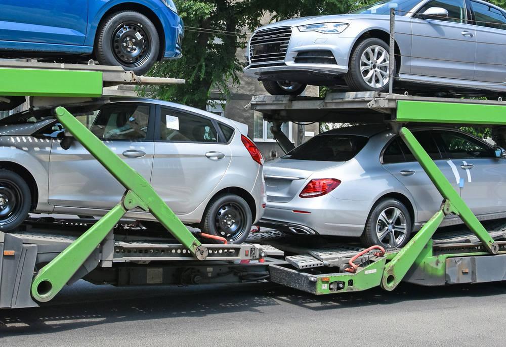 Un transporte de vehículos eficaz y rápido