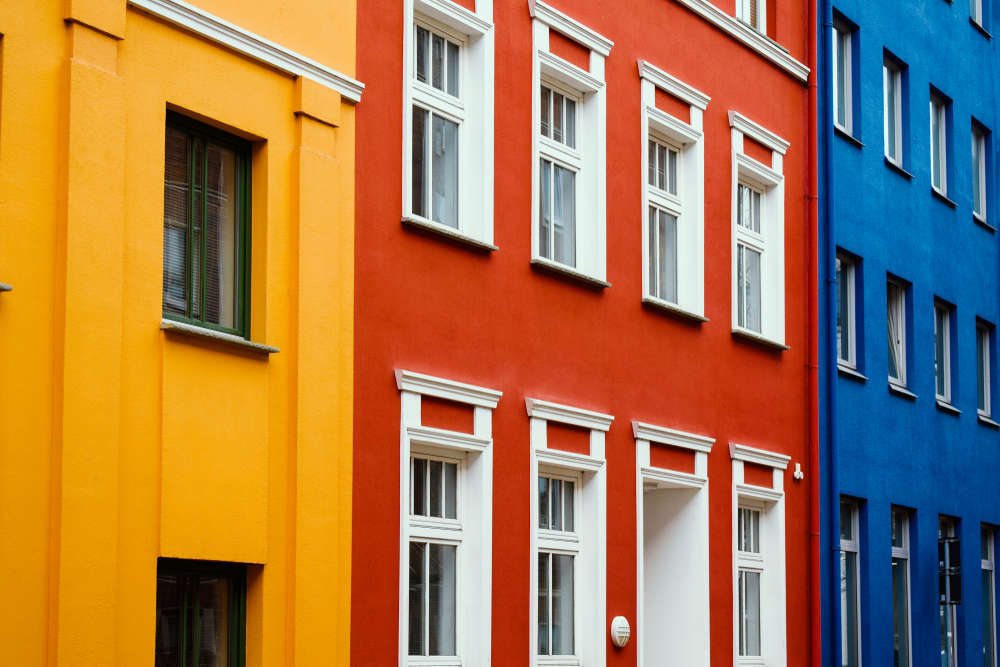 Elegir color para pintar fachada